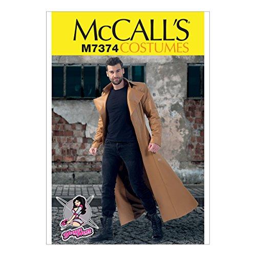 McCall 's Muster Herren, Kostüme, Größe mqq (Mccalls Kostüm Muster)