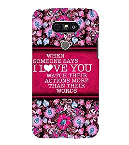 Fuson Designer Back Case Cover for LG G5 :: LG G5 Dual H860N :: LG G5 Speed H858 H850 VS987 H820 LS992 H830 US992 ( Love Quotes Inspiration Emotion Care Fun Funny )