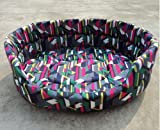 Nest 9 Indoor Cushion Pad Sofa/Couch/Beds -Medium - Color Geometry (Eqc659)