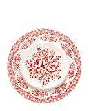 GreenGate Teller - Plate - Stephanie Red 20,5 cm