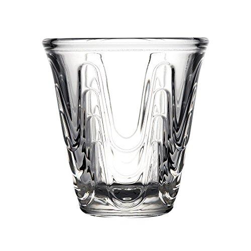 La Rochère Aura Tasses à expresso Enfant 9 cl/90 Ml - Etui de 6 - Gobelets à café en verre