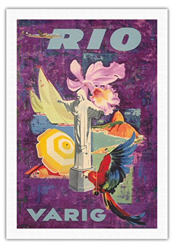 rio-brazil-varig-airlines-vintage-airline-travel-poster-by-unknown-c1955-fine-art-rolled-canvas-prin