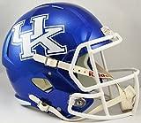 Riddell NCAA Kentucky Wildcats tamaño completo Velocidad réplica casco, azul, tamaño mediano