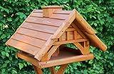 Garten und Holztrends Vogelhaus-Vogelhäuser Vogelfutterhaus Vogelhäuschen-aus Holz-Nistkasten-Schreinerarbeit-Vogelhausständer (Vogelhaus)
