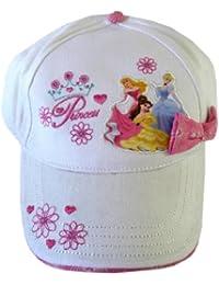 Disney Princess Hat Kids Baseball Cap White - Offical Licensed by Disney