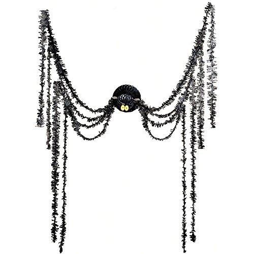 Halloween Familienfreundliche Kostüm - amscan 670003 Halloween-Party, Schwarz, 20 Stück