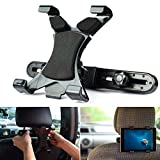 PSTZ® Tablet Halterung für die Kopfstütze im Auto, für iPad und Samsung Galaxy Tablets von 7-10 Zoll, Halter im KFZ
