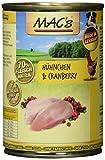 Mac's Hühnchen & Cranberry, 6er Pack (6 x 400 g)