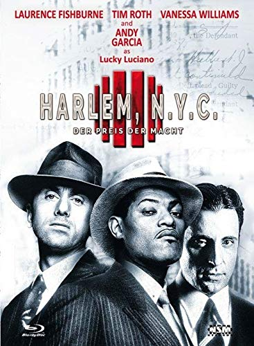 Harlem N.Y.C. - Der Preis der Macht [Blu-ray] [Limited Collector's Edition] Cover D