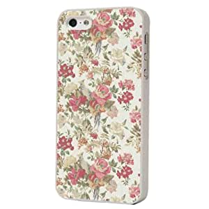 Vintage Shabby Chic Country Flowers Fleurs Funky Design iphone 5 5s Coque arriere Coque Case
