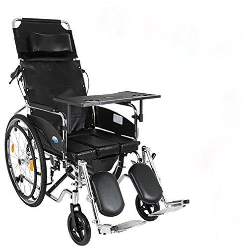 Opiniones guo acero silla de ruedas multifuncion toda for Sillas comedor ligeras
