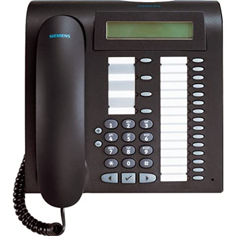 Unify optiPoint 500 advance - telephones (Black, White, LCD, 214