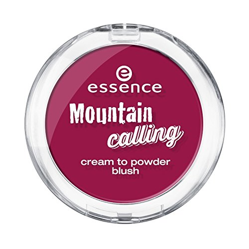 Essence Mountain calling cream to powder blush 01 let's climb mount beauty 3,5 g Creme - Puder Rouge...
