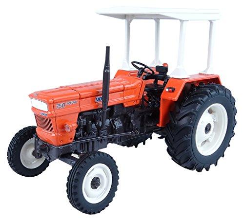Universal Hobbies-uh5255-Traktor FIAT 750-Echelle 1/32, Rot