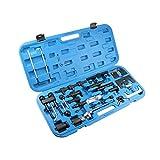Mostplus Motor Timing Tool Kit Set Adjust Locking Diesel Benzin für 1.2l / 1.4l / 1.9l / 2.0TDI / PD 1.7/1.9D / TD/SDI/TDI / 2.5 V6 TDI