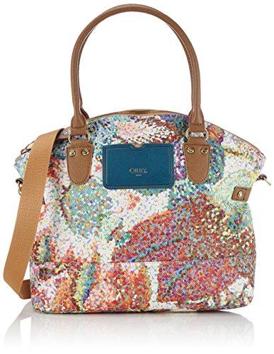 Oilily Women's M Carry All Shopper Multicoloured (Pastel 017) Size: 32x30x14