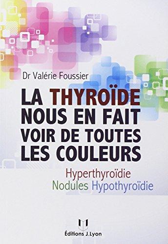 La thyroïde nous en fait voir de toutes les couleurs : Hyothyroïdie, hyperthyroïdie, nodules