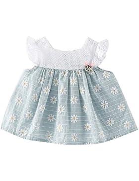 Vestido de niñas, FAMILIZO Niñas Bebé Princesa Vestido Sin Mangas Impresión Vestidos
