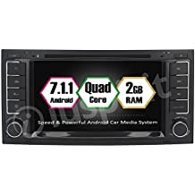 Android 7.1GPS DVD USB SD Wifi Radio 2Din navegador Touareg/T5MULTIVAN TRASPORTER VW