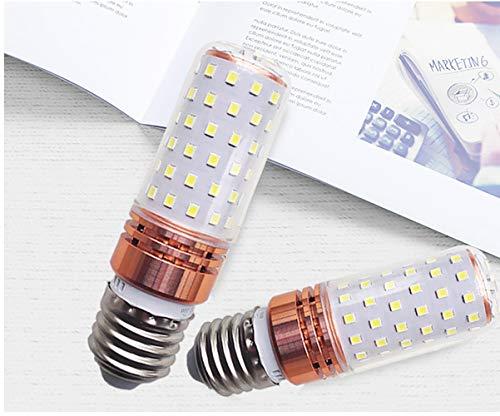 LWPCP LED Glühbirne E27 Weißlicht Edison Glühbirne, LED Energiesparlampe Spannung (85-265V) [Energiesparklasse A ++++,1PCS16W - Für Badezimmer Lichtbalken