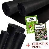Unkrautvlies/Gartenvlies 150 g/m² Grammatur | 1m Breite x 30m Länge = 30m² Fläche
