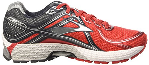 Brooks Adrenaline GTS 16-110212 1d 633, Chaussures de Trail Homme Rouge (Red/Anthracite/Silver 633)