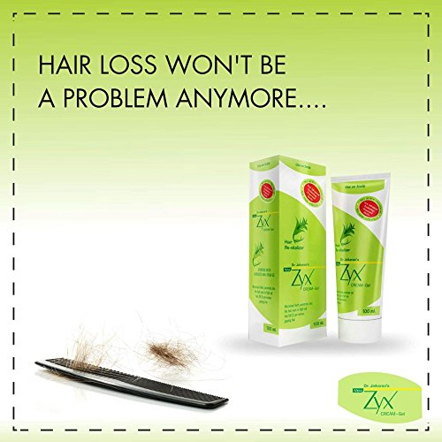 Dr. Jaikaran's Zyx Anti Hair Fall Herbal Cream - Gel (100ml) (1)