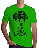ShutUp and Drive Lada Men's T-Shirt Small