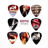 Led Zeppelin Chitarra Picks Set di 9 Plettri
