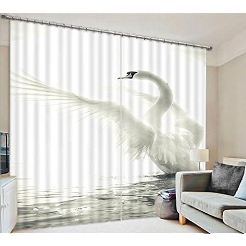 GYMNLJY Drappo di Decor Casa finestra tenda tende stampa tessuto