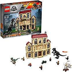 Lego Jurassic World La fureur de Indoraptor à Lockwood Estate 75930 (1019 pièces)