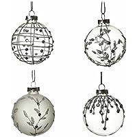 New Heaven Sends silver bells hanging heart
