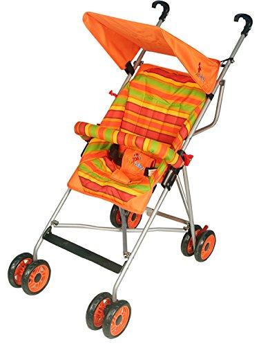 Sunbaby Buggy cum Stroller (Orange)