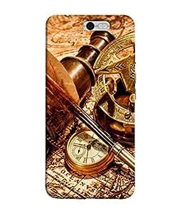 Fuson Designer Back Case Cover for InFocus M812 (Compass Bon Voyage Travel honeymoon)