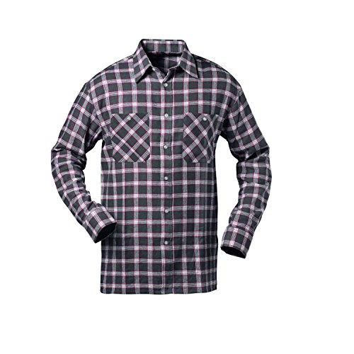 flanellhemd arbeitshemd Flanell-Hemd - Nashville Länge 85 cm CRAFTLAND® (XXL (45/46))