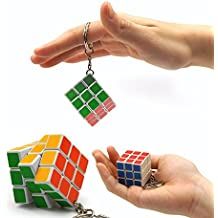 Mini Magic Cube llavero 3 * 3 * 3 Cubo Mágico Juego toy-1pcs