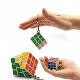 Mini Magic Cube llavero 3* 3* 3Cubo Mágico Juego toy-1pcs