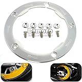 Usato, BJ globale 1pcs nuovo design TMAX parti moto cnc alluminio usato  Spedito ovunque in Italia