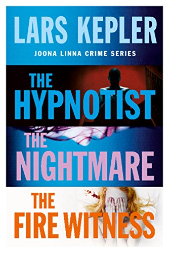 Joona Linna Crime Series Books 1-3: The Hypnotist, The Nightmare, The Fire Witness (English Edition)