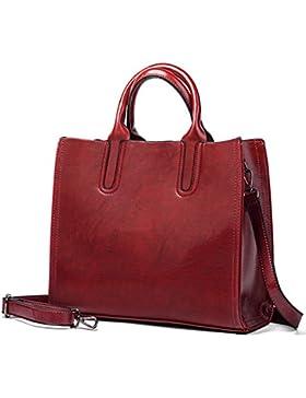 Aburnudrey Damen Handtaschen Umhängetasche Taschen Handtasche Shopper