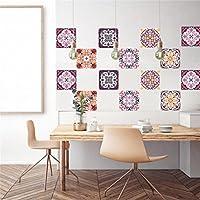 Adhesivo decorativo azulejos para baño y cocina Azulejos adhesivos de imitación Collage de azulejos 6 (