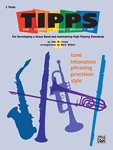 T-I-P-P-S for Band: C Flute (Piccolo) Part (English Edition)