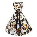 MISSWongg_Kleider im Vintage Hepburn Stil für Damen Kleider festlich Kleider Rockabilly Kleid Partykleider Cocktailkleider