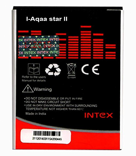 Intex Aqua Star 2 Battery 1400mAh by 1by1