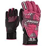 ZIENER Race glove Rennhandschuhe Handschuhe Leder Grib pink 766
