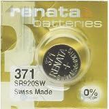Renata Horlogebatterij MP-E 371 SR920SW, 60% meer vermogen, 1 verpakking