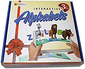 StudioTrinetra Interactive Alphabets Learn Alphabets Easier and Faster for 2 to 5 Years Old Children