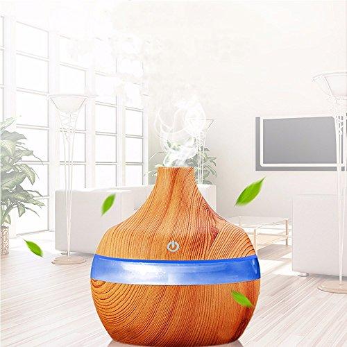 300ml 7-Color LED Humidificador de Casa Difusor de Aceites Esenciales de Vapor
