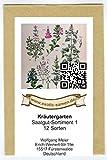 Samen - Saatgutsortiment - Set - Mischung - Mix - Kräutergarten 1-12 Sorten - ca. 1.000 Samen