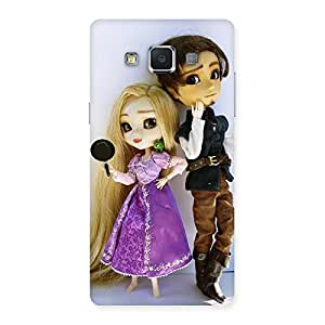 Delighted Cutest Couple Multicolor Back Case Cover for Samsung Galaxy A5